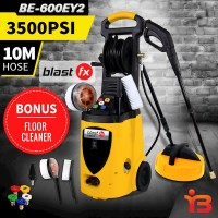 Pressure Washer w/ 10m Hose & Floor Cleaner 3500PSI