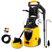 Pressure Washer w/ 10m Hose & Floor Cleaner 3800PSI