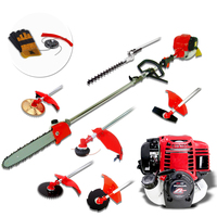 6-in-1 Petrol Pole Chainsaw Brush Cutter Multi-Tool