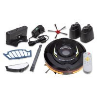 UV Robot Vacuum Cleaner w/ Accessories Black 24W
