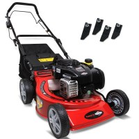 B&S Petrol Self Propelled Lawn Mower 18in 140cc