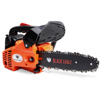 2 Stroke Petrol Chainsaw w/ 10in Bar & Chain 25.4cc