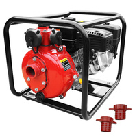 Heavy Duty Petrol 4 Stroke Twin Impeller Water Pump