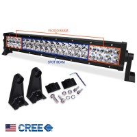 Cree LED Light Bar w/ Spot & Flood Combo 24in 120W