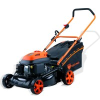 Black Eagle Hand Push Petrol Lawn Mower 18in 4HP