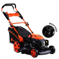 Black Eagle Self Propelled Petrol Lawn Mower 20in