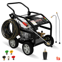 Heavy Duty Petrol Pressure Washer Cleaner 4800PSI