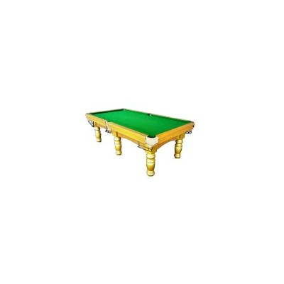 Pub Size Billiards Pool Table with Accessories Gold