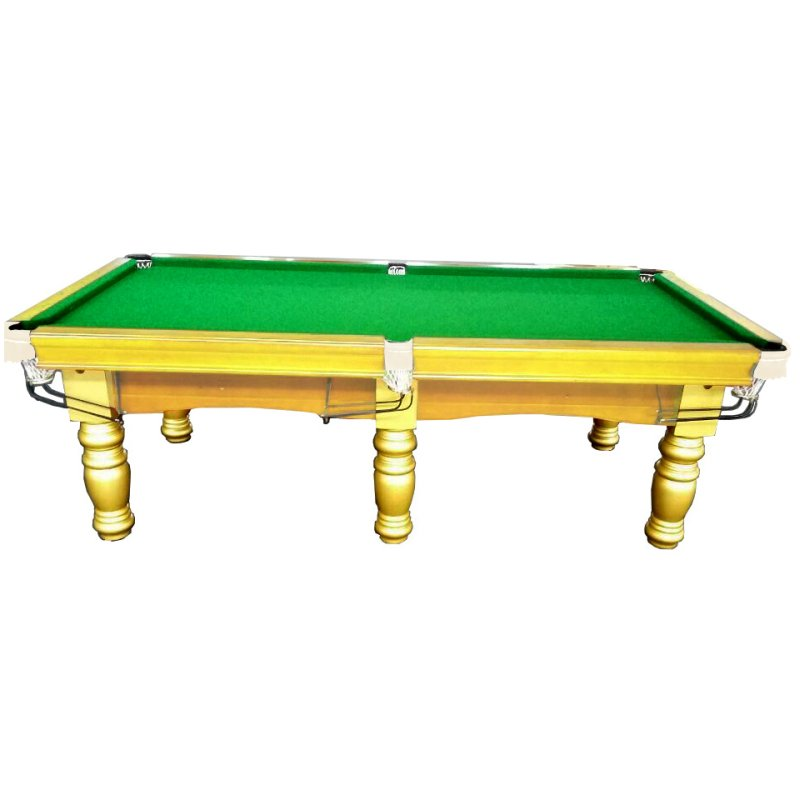 Pub size billiards pool table with accessories gold buy - 8 foot pool table dimensions ...