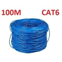 CAT6 Ethernet LAN Network Cable 100m 328 Feet in Bl