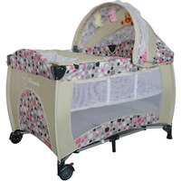 Baby Travel PortaCot Playpen w/ Carry Bag in Beige