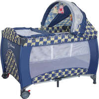 Baby Travel PortaCot Playpen w/ Carry Bag in Navy