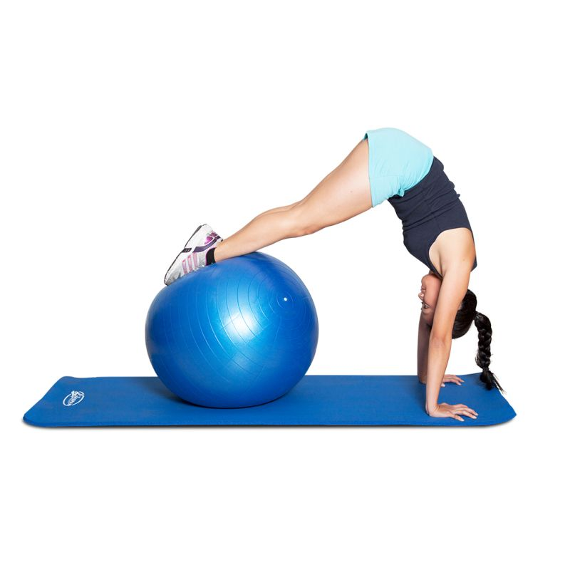 Exercise Ball 75cm Anti Burst: Yoga Gym Exercise Ball 75cm Anti-Burst + Air Pump