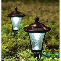 Automatic Solar Powered LED Garden / Yard Lamp