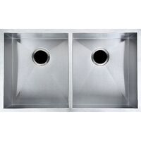 Kitchen Double Bowl Stainless Steel Sink 820x457mm