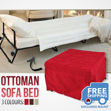 sleeper ottoman fold out single sofa bed with cover buy 30 50 sale. Black Bedroom Furniture Sets. Home Design Ideas