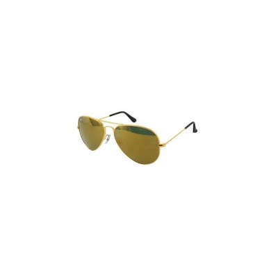 Ray Ban Gold Frame Mirror Lense Aviator Sunglasses