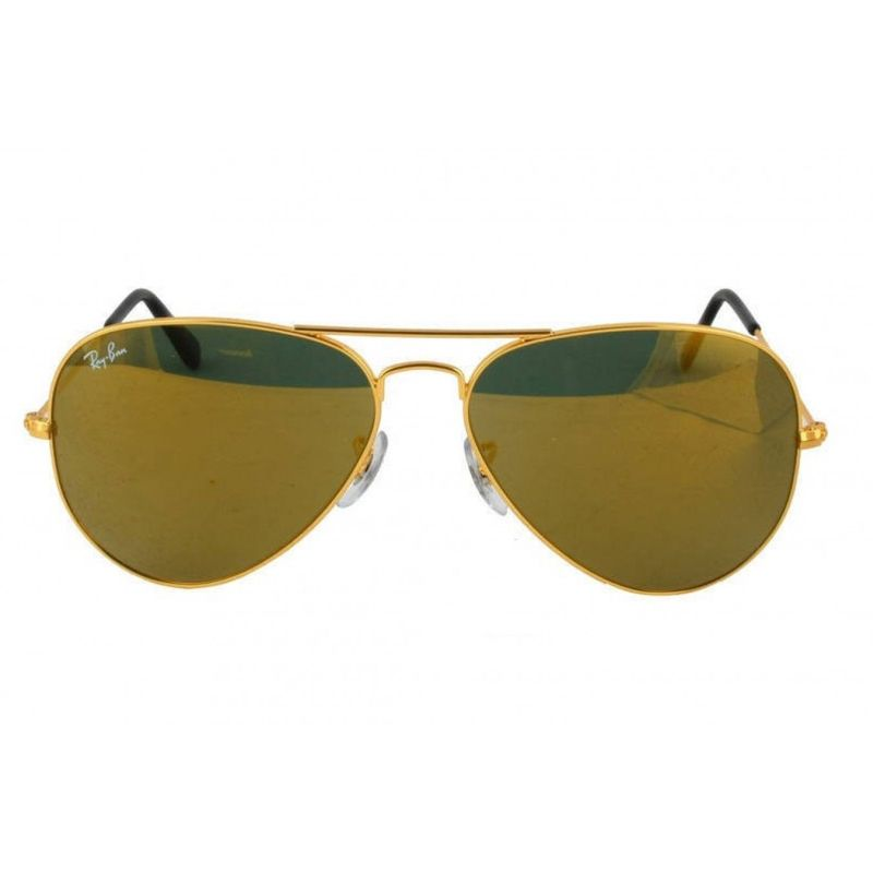 Gold Frame Ray Ban Sunglasses : Ray Ban Gold Frame Mirror Lense Aviator Sunglasses Buy ...