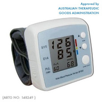 Automatic Blood Pressure Monitor - TGA Approved!