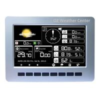 Outdoor Solar Powered Wireless Weather Station