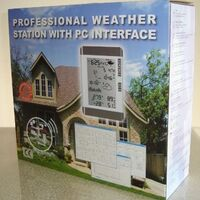 Solar Powered Outdoor Wireless Home Weather Station