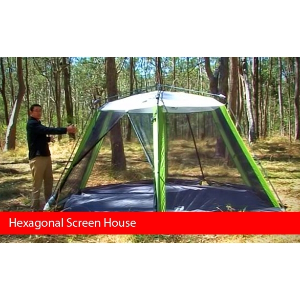 Coleman Screenhouse Hexagonal Wit Buy Pop Up Tents