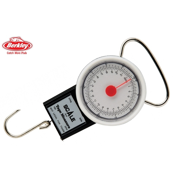Berkley fish weighing scale fish measure tape buy for Fish weight scale
