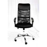 Executive High Mesh Office Chair w/ Lumbar Support