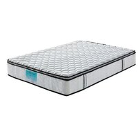 Queen Pocket Spring Mattress with Latex Pillow Top