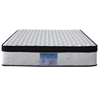 Double Size 30cm Euro Top Latex Pillow Top Mattress