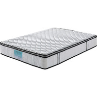Single Latex Pocket Spring Mattress w/  Pillow Top