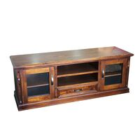 TV Cabinet Modern Solid Wood Design