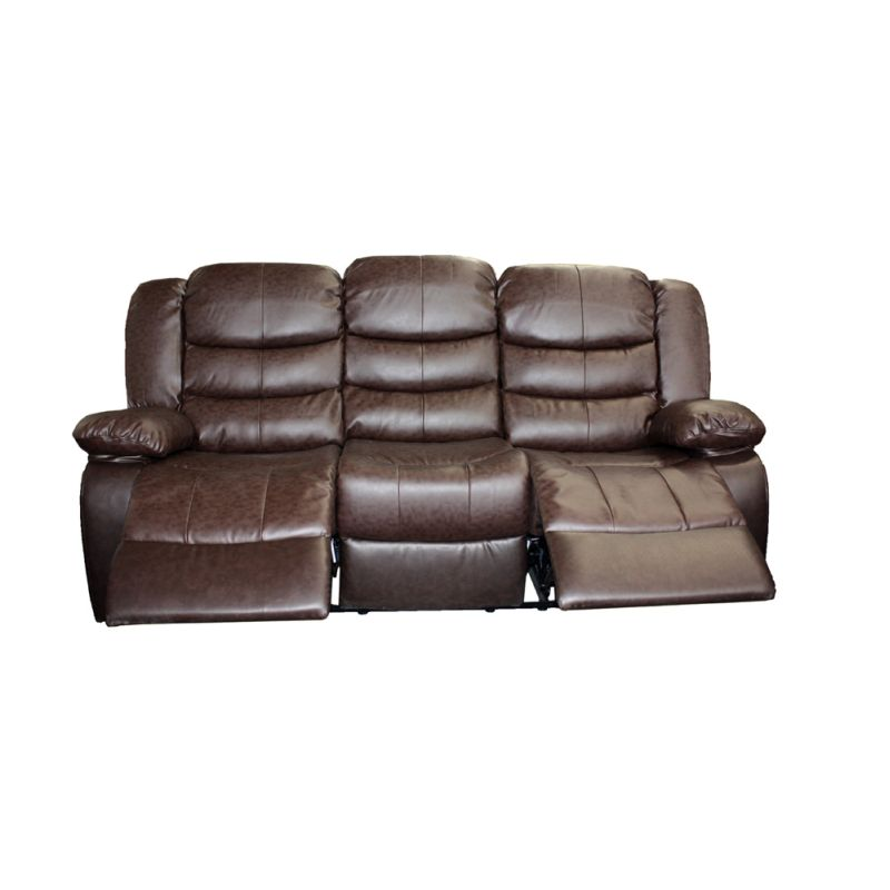 3 Seater Recliner Couch Lounge Brown Bonded Leather Buy  : DREAM 3R BR01 from www.mydeal.com.au size 800 x 800 jpeg 49kB