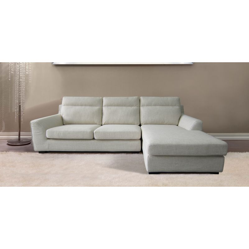 ashley 3 seat sofa with chaise lounge in beige buy