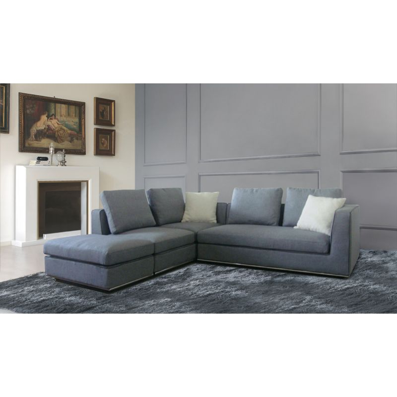 Laura sectional 5 seat sofa w ottoman chaise lounge buy for 1 seater chaise lounge