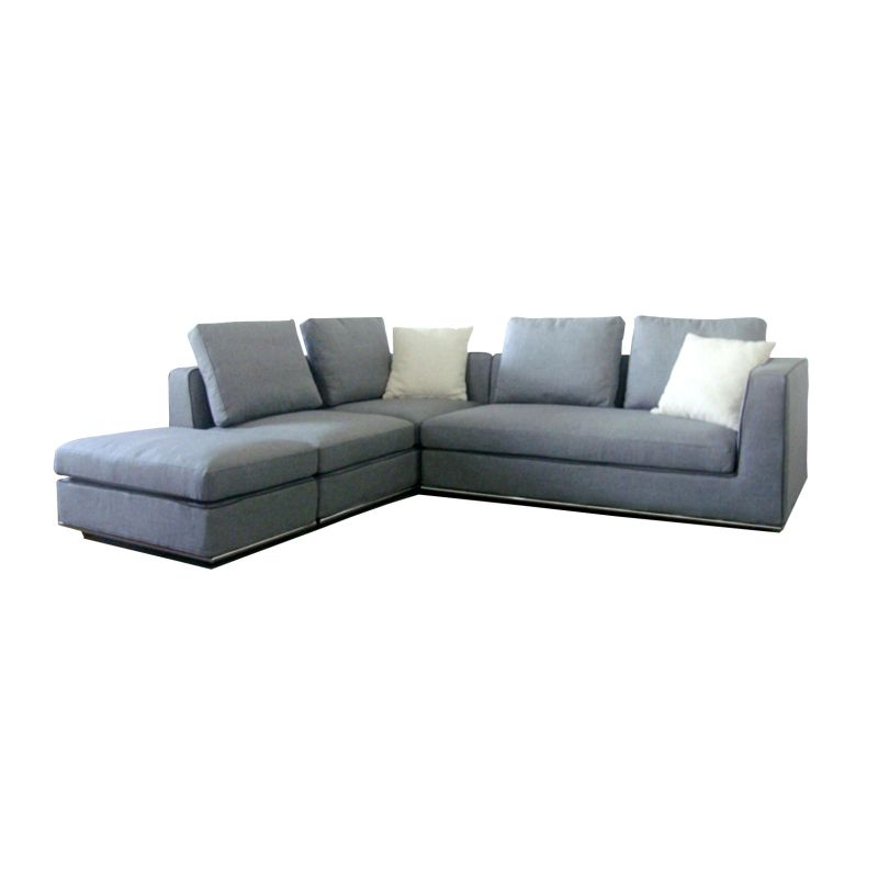 Laura sectional 5 seat sofa w ottoman chaise lounge buy for 2 5 seater sofa with chaise