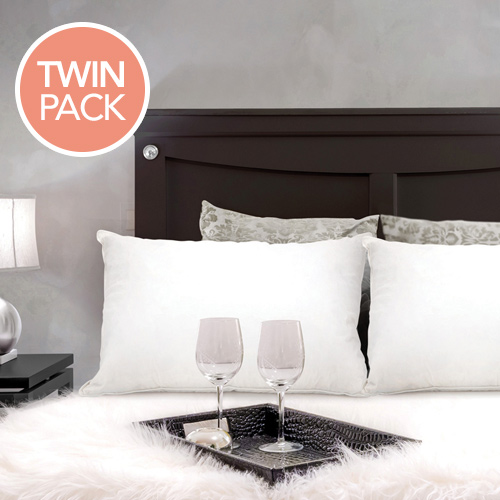 Twin Pack Royal Comfort Duck Feather Amp Down Pillows Buy
