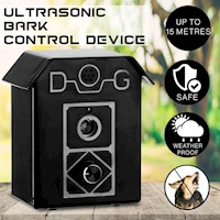 Wall Mount Ultrasonic Bark Control Device