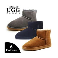 Ankle-High Unisex Australian Wool UGG Boots