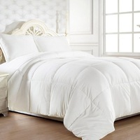 Duck Down Feather Bed Quilt w/ Cotton Japara Cover