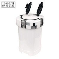 Aquarium External Canister Water Filter 1000L/H