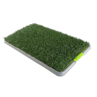 Puppy Toilet Training Pet Dog Grass Pad 69x43x3.5cm