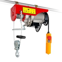 Double Rope Electric Winch Hoist 1020W 240V 500kg