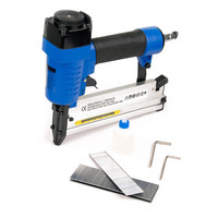 2-in-1 Brad & Staple Combo Air Nail Stapler Gun