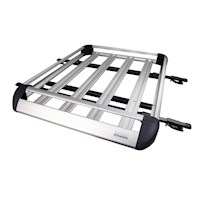 Aluminium Roof Rack Storage Tray Box with Clamps