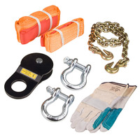 Eight Piece 4WD Recovery Rescue Kit