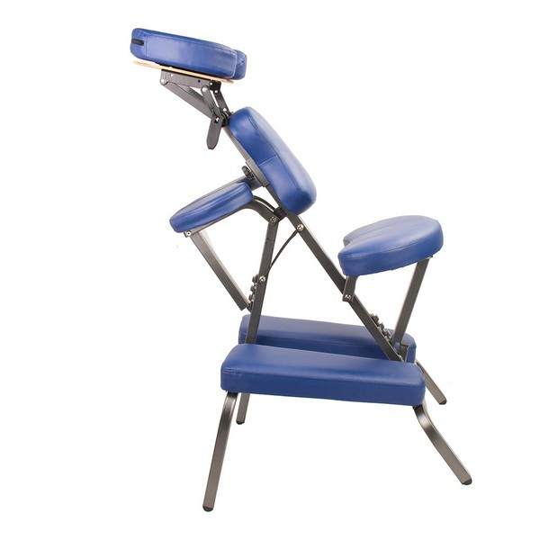 Portable tattoo massage chair table blue buy gifts for her - Portable reflexology chair ...