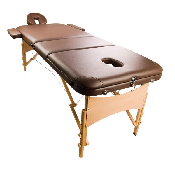Portable professional massage table in brown coffee buy for Massage gifts for her