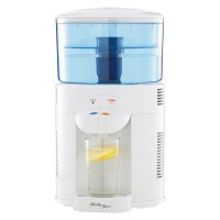 White Benchtop Water Filter Cooler Dispenser 5L