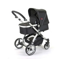 2 in 1 Baby Carry Cot & Foldable Pram Stroller